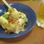 餃子の王将 - ビールセット(冷奴・大瓶ビール)
