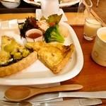 トーフカフェおおはたや - キッシュプレート
