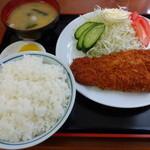 昌龍 - かつ定食 850円
