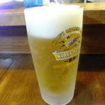 沖味亭 - 生ビール