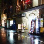 ヤドカリー - 視点:通り沿い西向き[雑居ビル地階](北にすぐ天満橋駅)