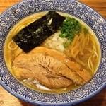 宮庵 - 「あっさり煮干そば」680円