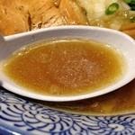 宮庵 - アッサリ煮干しスープ