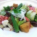 22665204 - 彩り野菜のバランスサラダ490円。