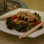 王朝 - 前菜 湯葉巻き