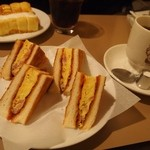 アラビヤコーヒー - アラビヤサンド&ブレンドコーヒー