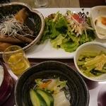 Umekisanchinodaidokoro - 煮魚定食700円