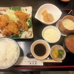 喜久屋 - 牡蠣フライ定食