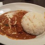 マザームーンカフェ - ★バターチキンカレー(1180円)