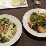 マザームーンカフェ - ★シーザーサラダ・8品目野菜のガーデンサラダ