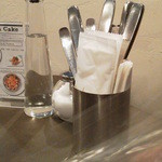 マザームーンカフェ - ★テーブル卓上