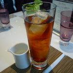 ラウンジ&バー グラン・ブルー  - ☆冷んやり紅茶で喉を潤しましたぁ(*^。^*)☆