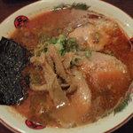 よなき家 - 辛口四川チャーシュー麺