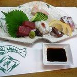 岬寿し - 料理写真:お造り盛り合わせ