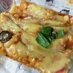 22670469 - ナポリ風ピザトースト(263円) 美味しいけどめっちゃ食べにくかったですね・・・(´▽`;)ゞ