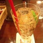 銀座ライオン - 「ジンジャーエール(450円)」