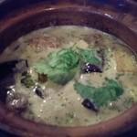 ikebukurobetonamubisutoroajiantao - 地鶏のココナッツグリーンカレー