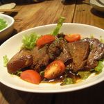 ガチャガチ屋 - 豚タンのデミグラス煮[500円]