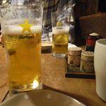 ガチャガチ屋 - 生ビール[500円]