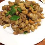 王家中国福建家常菜 - 鶏肉のカシューナッツ炒め ¥680