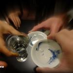 22674036 - 日本酒で乾杯!蕎麦にはやっぱり日本酒だよね。