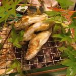和やまむら - 絶品だった和歌山産の若鮎の塩焼き