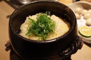 TAKASEGAWA - タカセガワの土鍋炊き込みごはん~親子仕立て~1000円(13.11)