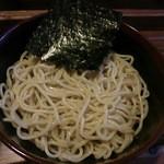 22676536 - 海老味噌つけ麺の麺