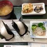 畑屋 - 料理写真:【おにぎりセット】