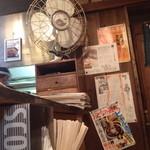 湯梅軒 - 昭和な店内
