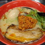 麺や ぼんず - 鶏白湯担々麺+味玉