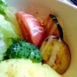 朱雀 - 野菜など。