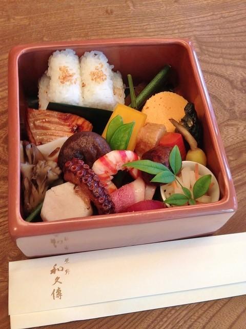 紫野和久傳 大徳寺店 - 陶筥弁当