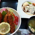 レストラン三國 - ミニ丼セット ¥1200