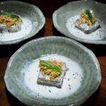 22684165 - お通し レンコン豆腐
