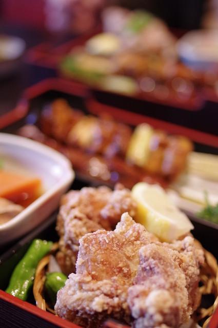 登利平 本店 - 鶏唐揚(とりからあ)げ
