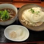 千舟屋 - 肉南蛮のひやあつざる780円 ※2013年11月