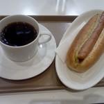 cafe Copana - マスタードドッグも来ました
