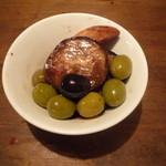 ル・ペリカン・ルージュ - オリーブとなすのバルサミコ風味