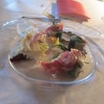 ヒカリヤ ニシ - デギュスタシオン(4,500円)のランチ♪前菜 秋刀魚のルロー