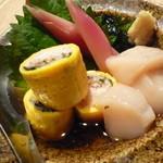 魚真 - 魚屋さんの酢の物盛り680円