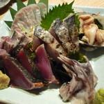 魚真 - 刺身盛 1500円