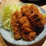 魚真 - カキフライ 880円