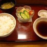 2269185 - 定食のご飯,味噌汁,サラダ
