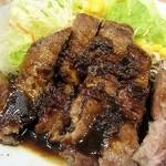 松屋 - トンテキ、お肉も柔らかくて美味しいです