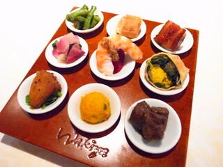 トゥーランドット 臥龍居  - 季節野菜と海の幸 九つの喜びオードブル