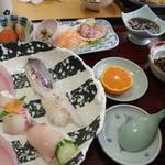 市場食堂ぶえんかん - 特選寿司 1800円