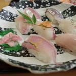 市場食堂ぶえんかん - お寿司アップ