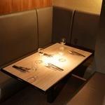8G shinsaibashi - 2~4名様までOKの広々ソファの半個室席♪