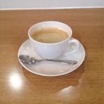 エル.エス カフェ - ランチ時 ¥100のホットコーヒー